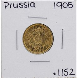 1905-A Germany-Prussia 10 Marks Gold Coin