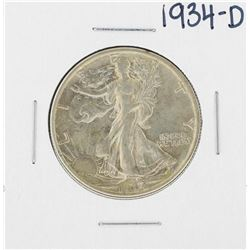 1934-D Walking Liberty Half Dollar Coin
