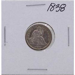 1838 Seated Liberty Dime Coin