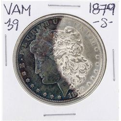 1879-S VAM-39 $1 Morgan Silver Dollar Coin