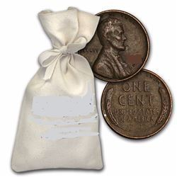 5,000-Count Bag 1909-1958 Lincoln Wheat Cents 1909-1958 All Ave. Circulation