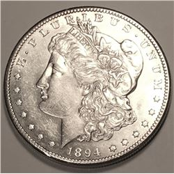 1894 S Morgan Dollar Sharp CHOICE BU KEY DATE