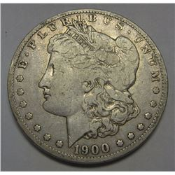 1900 O/CC RARE DATE OVER STAMP MORGAN SILVER DOLLAR