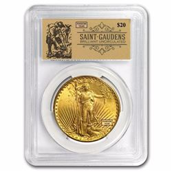 $20 Saint-Gaudens Double Eagle BU MS-64  PCGS LIMITED EDITION GOLD  PROSPECTOR LABEL