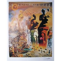 Salvador Dali HALLUCINOGENIC TOREADOR Plate Signed Limited Edition Lithograph 33x22