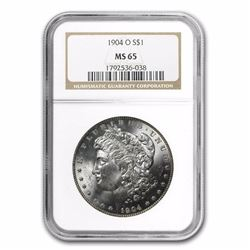 1904-O Morgan Dollar MS-65 NGC HIGH GRADE