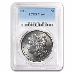1903 Morgan Dollar MS-64 PCGS