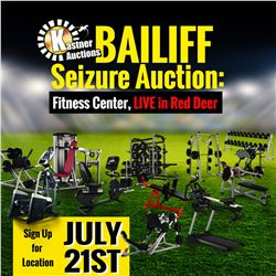 WELCOME TO KASTNER AUCTIONS ONSITE GYM AUCTION