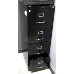 4-DRAWER METAL FILING CABINET