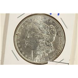 1887-P MORGAN SILVER DOLLAR UNC