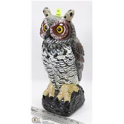 OWL SHAPE LAWN ORNAMENT