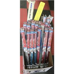 LARGE BOX OF ASSORTED SIZE AND COLOUR WIPER