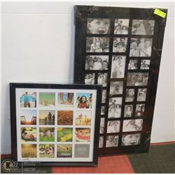 "2 NEW COLLAGE PICTURE FRAMES 20""X20"" AND 20""X36"""