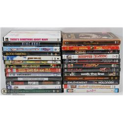 FLAT OF ASSORTED DVD'S