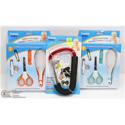 LOT OF TWO BABY GROOMING SETS SOLD WITH HANDY