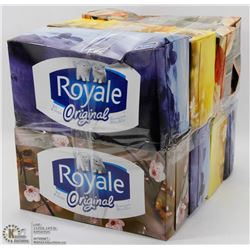 8 BOXES OF ROYAL ORIGINAL FACIAL TISSUES