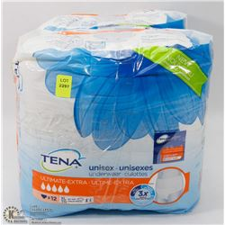 2 PACKS OF TENA UNISEX UNDERWEAR