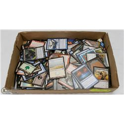 BOX OF COLLECTIBLE MAGIC THE GATHERING CARDS