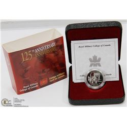 SILVER CANADIAN 125th ANNIVERSARY OF ROYAL