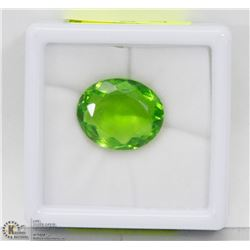 #34-GREEN MOLDAVITE GEMSTONE 12.5CT