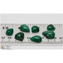 #88-NATURAL GREEN EMERALD GEMSTONE 81CT