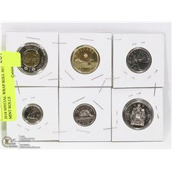 2018 SPECIAL UNCIRCULATED SET FROM MINT ROLLS