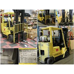FEATURED 2003 HYSTER 8000LBS FORKLIFT