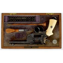 French Levaux Pinfire Revolver by E. Pertuiset
