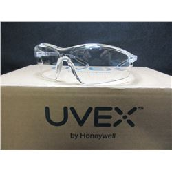 5 New Clear Uvex Safety Glasses by Honeywell