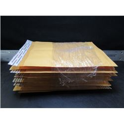 New bundle of 12 -  6 x 10 Bubble Mailers with self sealing strip