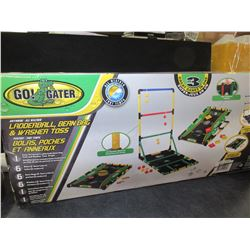 Go Gator 3 in one Ladderball / Bean Bag & Washer toss Game