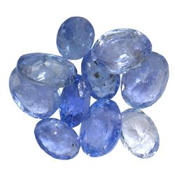10.29 ctw Oval Mixed Tanzanite Parcel