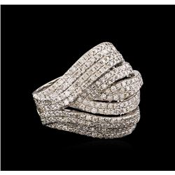 14KT White Gold 1.58 ctw Diamond Ring