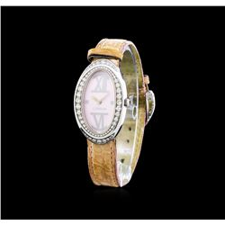 Corum Stainless Steel 1.00 ctw Diamond Ladies Watch