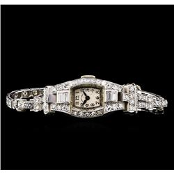 Hamilton 2.62 ctw Diamond Ladies Watch