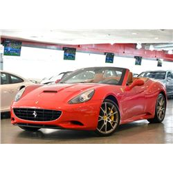 2012 Red Ferrari California Convertible
