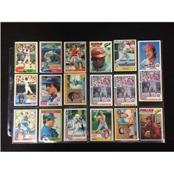 1980'S BASEBALL CARD LOT