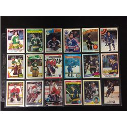 DON BEAUPRE & GILBERT PERREAULT HOCKEY CARD LOT