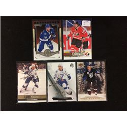 STEVEN STAMKOS HOCKEY CARD LOT