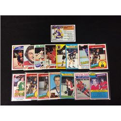 1980'S HOCKEY CARD LOT
