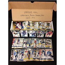 1995-97 NHL TRADING CARDS LOT (UPPER DECK, PACIFIC TRADING...)
