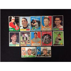 1950'S BASEBALL TRADING CARDS LOT