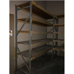 "Section of Racking 120""x120""x36"""