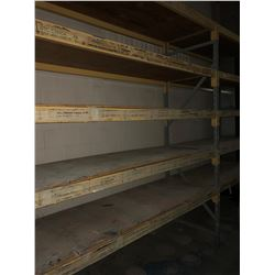 "(2) Sections of Racking 120""x120""x36"""