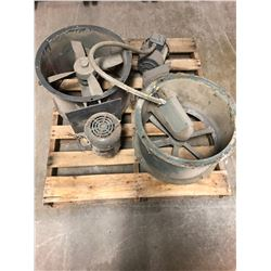 Lot of (2) Exhaust Fans