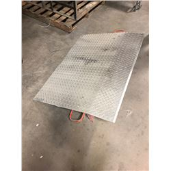 Steel Removable Dock Plate 4ft x 3ft