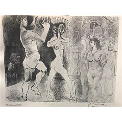 The Rehearsal - Pablo Picasso Lithograph