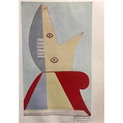 Monument: Young Girl - Pablo Picasso Lithograph