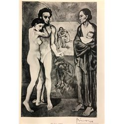 The Life - Pablo Picasso Lithograph