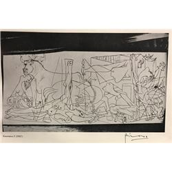 Guernica III - Pablo Picasso Lithograph